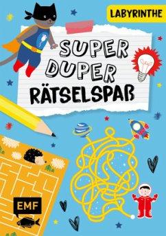 Super-duper-Rätselspaß - Labyrinthe