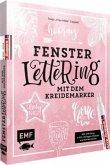 "Hooray - Fenster-Lettering mit dem Kreidemarker - Designed by Tanja ""Frau Hölle"" Cappell"