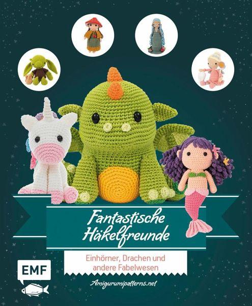 Sabrina - Amigurumi Doll Crochet Pattern   Meerjungfrau häkeln ...   600x495
