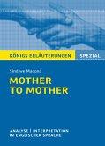 Mother to Mother von Sindiwe Magona. Königs Erläuterungen Spezial. (eBook, ePUB)