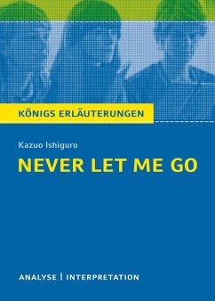Never Let Me Go von Kazuo Ishiguro. - Ishiguro, Kazuo