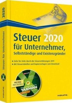 Steuer für Unternehmer, Selbstständige und Existenzgründer plus DVD - Dittmann, Willi; Haderer, Dieter; Happe, Rüdiger