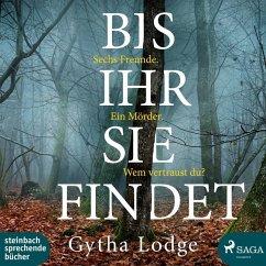 Bis ihr sie findet / DCI Jonah Sheens Bd.1 (2 MP3-CDs) - Lodge, Gytha