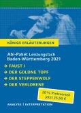 Abitur-Paket Baden-Württemberg 2021 Leistungsfach - Königs Erläuterungen