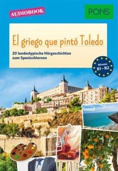 El griego que pintó Toledo, 1 MP3-CD - Gómez Cabornero, Sonsoles
