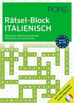 PONS Rätsel-Block Italienisch