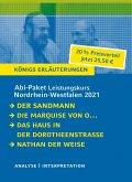 Abitur-Paket Nordrhein-Westfalen 2021. Deutsch Leistungskurs - Königs Erläuterungen