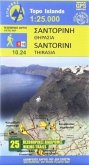 Wanderkarte 10.24 Santorini