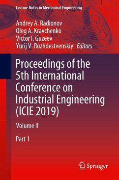 Proceedings of the 5th International Conference on Industrial Engineering (ICIE 2019)