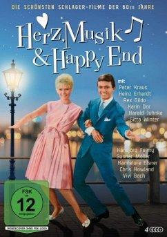 Herz, Musik & Happy End - Die schönsten Schlager-Filme der 60er Jahre DVD-Box