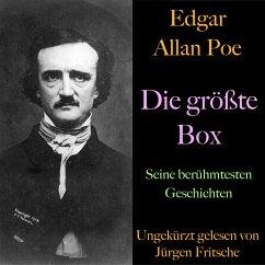 Edgar Allan Poe: Die größte Box (MP3-Download) - Poe, Edgar Allan
