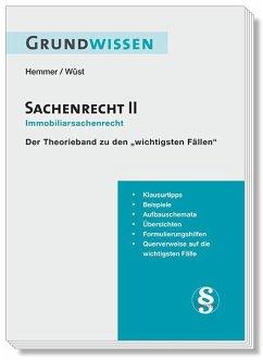 Grundwissen - Sachenrecht II - Hemmer, Karl-Edmund; Wüst, Achim