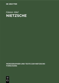 Nietzsche (eBook, PDF) - Abel, Günter