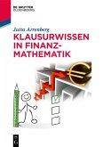 Klausurwissen in Finanzmathematik (eBook, PDF)