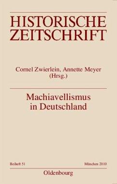 Machiavellismus in Deutschland (eBook, PDF)