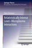Relativistically Intense Laser-Microplasma Interactions