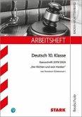 STARK Arbeitsheft Realschule - Deutsch - BaWü - Ganzschrift 2019/20 - Dürrenmatt: Der Richter und sein Henker