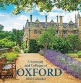 Oxford Colleges Large Calendar - 2020