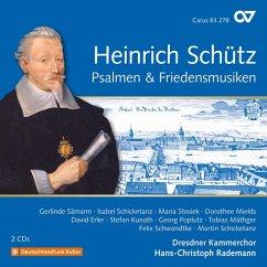Psalmen & Friedensmusiken (Schütz-Ed.Vol.20) - Sämann/Schicketanz/Mields/Rademann/Dresdner Kammer