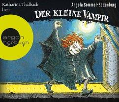 Der kleine Vampir, 3 Audio-CDs - Sommer-Bodenburg, Angela