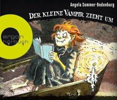 Der kleine Vampir zieht um / Der kleine Vampir Bd.2 (3 Audio-CDs) - Sommer-Bodenburg, Angela