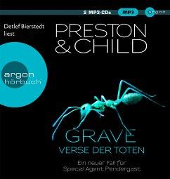 Grave - Verse der Toten / Pendergast Bd.18 (2 MP3-CDs) - Preston, Douglas; Child, Lincoln