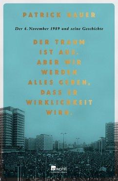 Der Traum ist aus. Aber wir werden alles geben, dass er Wirklichkeit wird. - Bauer, Patrick