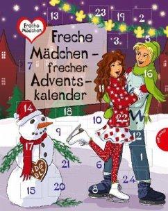 Freche Mädchen - frecher Adventskalender (Mängelexemplar) - Both, Sabine; Brinx, Thomas; Kömmerling, Anja; Minte-König, Bianka; Sahler, Martina; Schreiber, Chantal; Ullrich, Hortense; Zimmermann, Irene