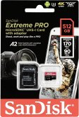 SanDisk microSDXC A2 170MB 512GB Extreme Pro SDSQXCZ-512G-GN6MA