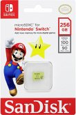 SanDisk MicroSDXC 100MB 256GB Nintendo SDSQXAO-256G-GNCZN