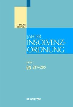Insolvenzordnung §§ 217-285