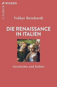 Die Renaissance in Italien - Reinhardt, Volker