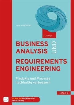 Business Analysis und Requirements Engineering (eBook, ePUB) - Hruschka, Peter