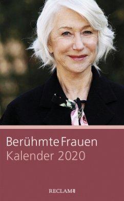 Berühmte Frauen. Kalender 2020