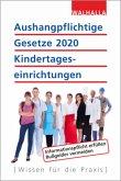 Aushangpflichtige Gesetze 2020 Kindertageseinrichtungen