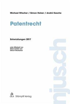 Patentrecht (eBook, PDF) - Ritscher, Michael; Holzer, Simon; Kasche, André