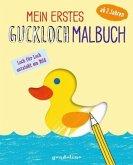 Mein erstes Guckloch-Malbuch für Kinder ab 2 Jahre (Entchen). Ein Kreativ-Mitmachbuch zum Ausmalen und Fertigmalen: Schablone für Schablone und Seite für Seite entsteht dein eigenes Bild!