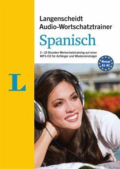 Langenscheidt Audio-Wortschatztrainer Spanisch für Anfänger, 1 MP3-CD