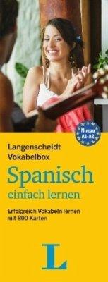 Langenscheidt Vokabelbox Spanisch einfach lernen - Box mit Karteikarten - Langenscheidt, Redaktion