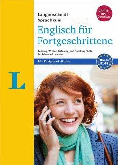 Langenscheidt Sprachkurs Englisch für Fortgeschrittene - Sprachkurs mit 4 Büchern und 2 MP3-CDs - Styles, Naomi; Badger, Ian; White, Genevieve; Prentis, Nicola