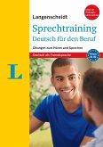 Langenscheidt Sprechtraining Deutsch für den Beruf - Buch mit MP3-Download