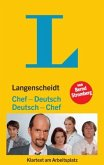 Langenscheidt Chef-Deutsch/Deutsch-Chef