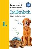 Langenscheidt Kurzgrammatik Italienisch - Buch mit Download
