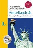 """Langenscheidt Universal-Sprachführer Amerikanisch - Buch inklusive E-Book zum Thema """"Essen & Trinken"""""""