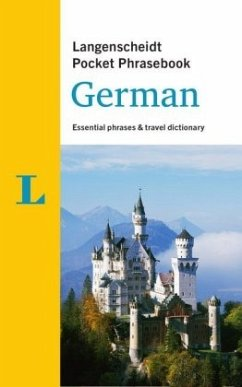 Langenscheidt Pocket Phrasebook German