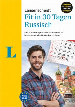 Langenscheidt Fit in 30 Tagen - Russisch - Sprachkurs für Anfänger und Wiedereinsteiger - Hood, Natalia; Razuev, Antje