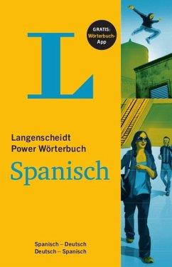 Langenscheidt Power Wörterbuch Spanisch - Buch und App