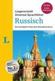 """Langenscheidt Universal-Sprachführer Russisch - Buch inklusive E-Book zum Thema """"Essen & Trinken"""""""