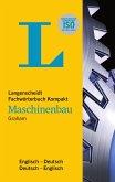 Langenscheidt Fachwörterbuch Kompakt Maschinenbau Englisch