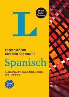 Langenscheidt Komplett-Grammatik Spanisch - Buch mit Übungen zum Download - Cámara Hernando, María Luz